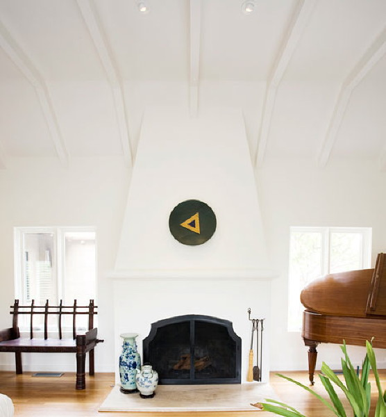 Electric wall fireplace double sided